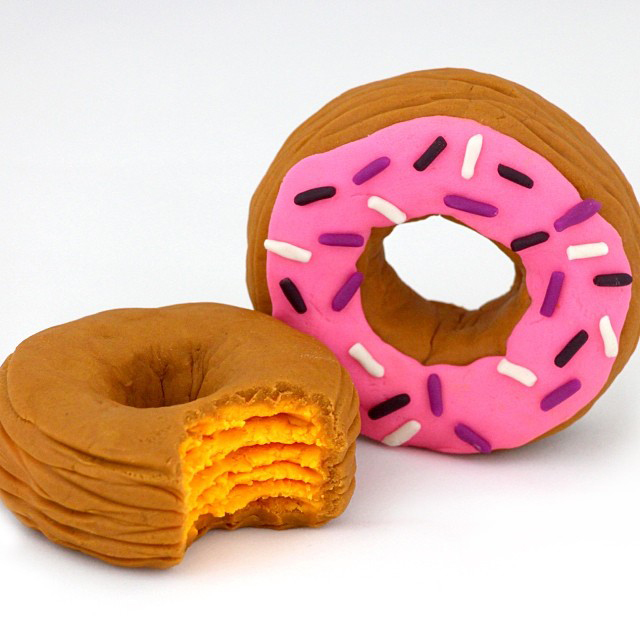 play-doh cronut and play-do donut