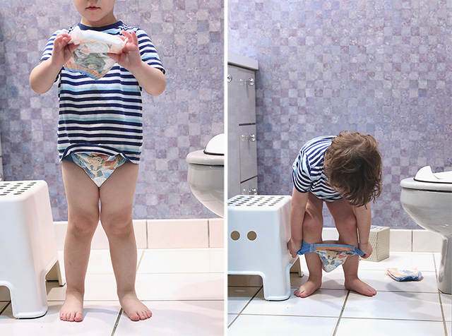 potty training with pull-ups and big kid academy
