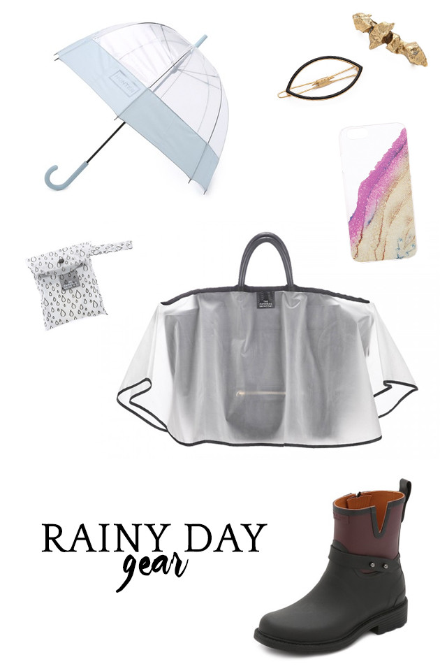 Simple chic rain gear for women | A Girl Named PJ