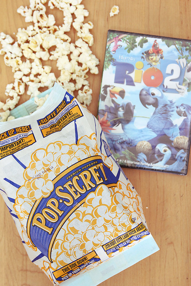 rio 2 and pop-secret popcorn