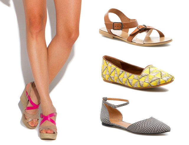 Shoedazzle summer sandals and flats | bunnyanddolly.com