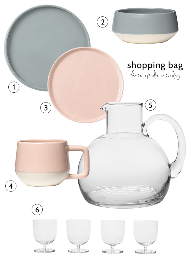 Kate Spade Saturday dinnerware