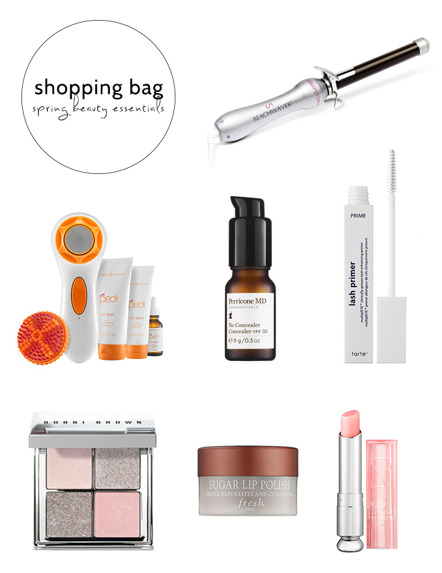 spring beauty essentials