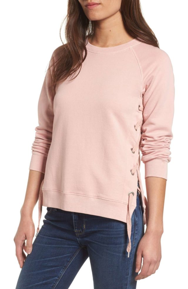 side-lace-sweatshirt