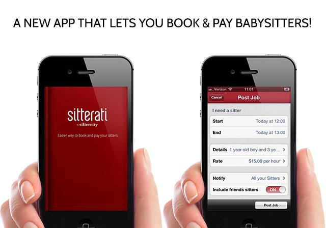 Sitterati babysitter app | bunnyanddolly.com