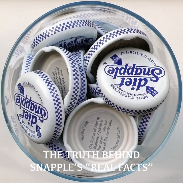 snapple cap real facts