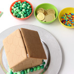 St. Patrick's Day activity: A leprechaun gingerbread house
