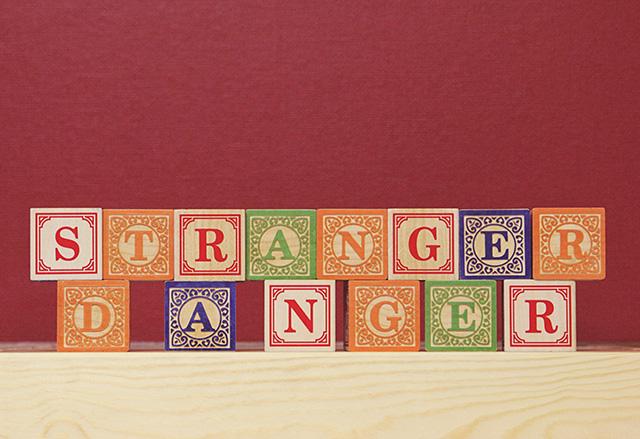 stranger danger #letsneighbor | bunnyanddolly.com