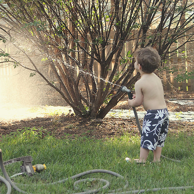 summer backyard fun