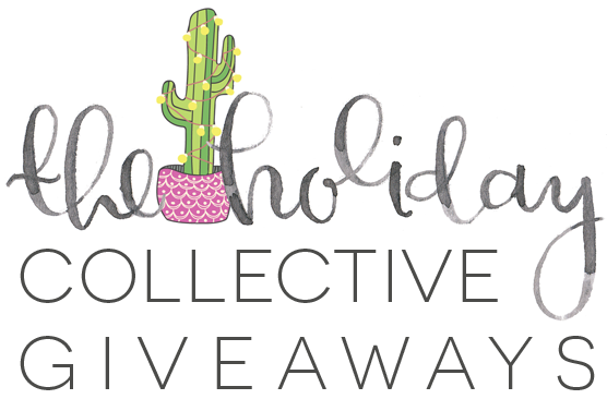 the holiday collective giveaways - 19 days of amazing giveaways from the bloggers behind The Holiday Collective