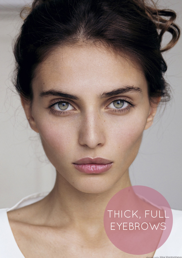 The New Brow: Update Your Brow Look