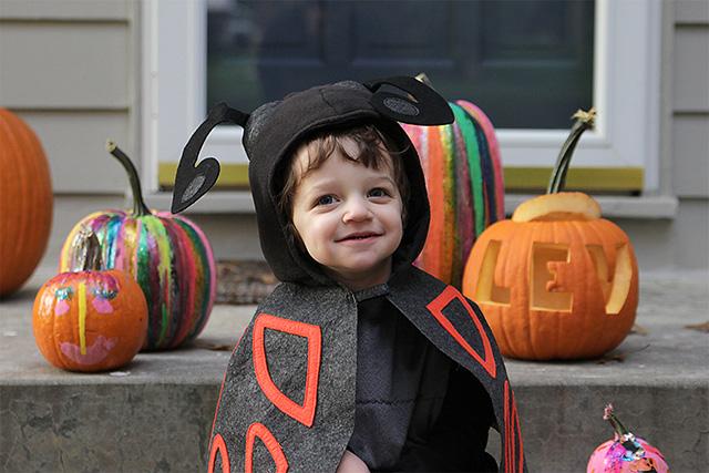 toddler bug costume on halloween