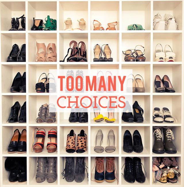 shoe closet - too many choices | bunnyanddolly.com