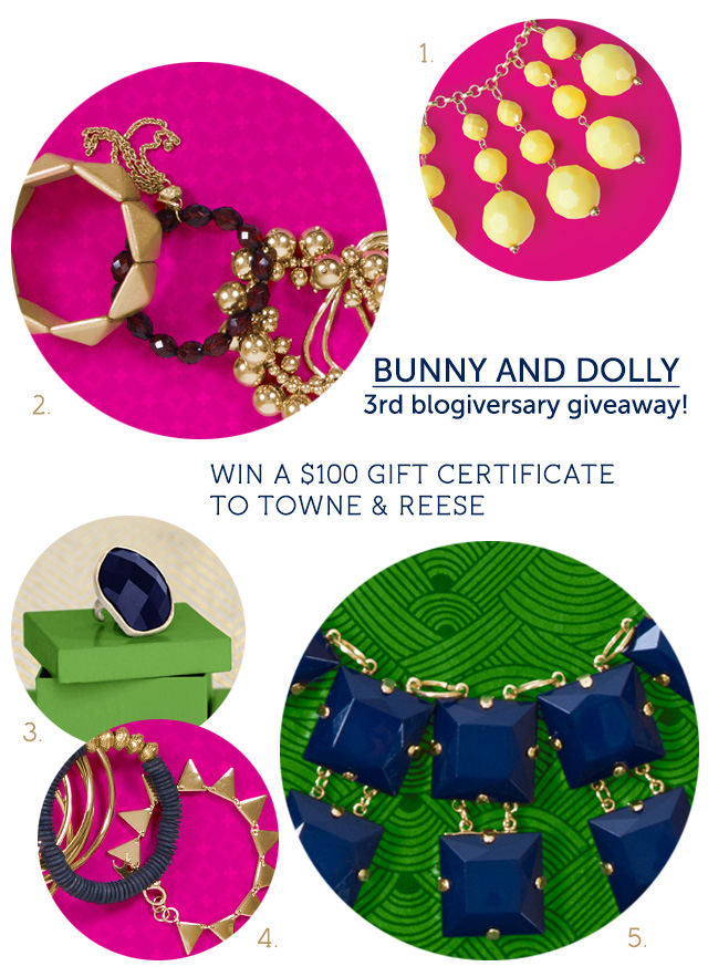 Towne and Reese giveaway on bunnyanddolly.com