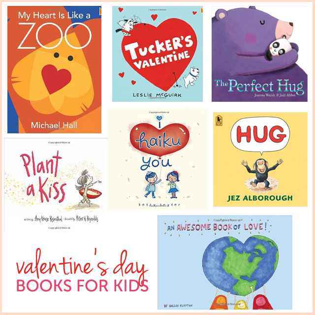 Valentine's Day Books for Kids www.bunnyanddolly.com