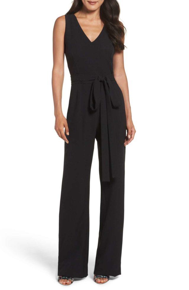 vince-camuto-black-sleeveless-jumpsuit