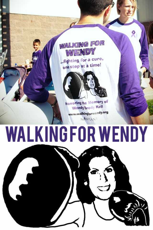 Walking for Wendy PurpleStride Omaha 2012 pancreatic cancer walk | bunnyanddolly.com