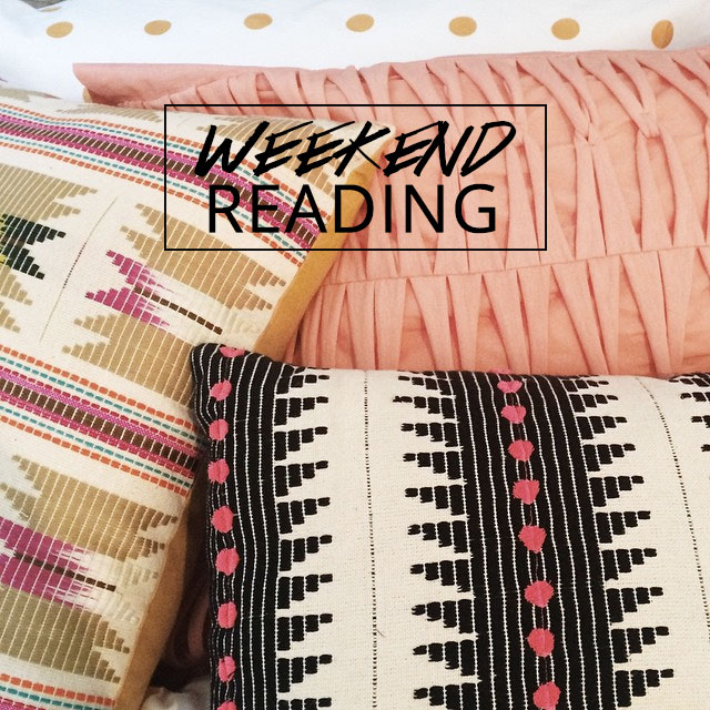Weekend Reading: May 8, 2015 | A Girl Named PJ