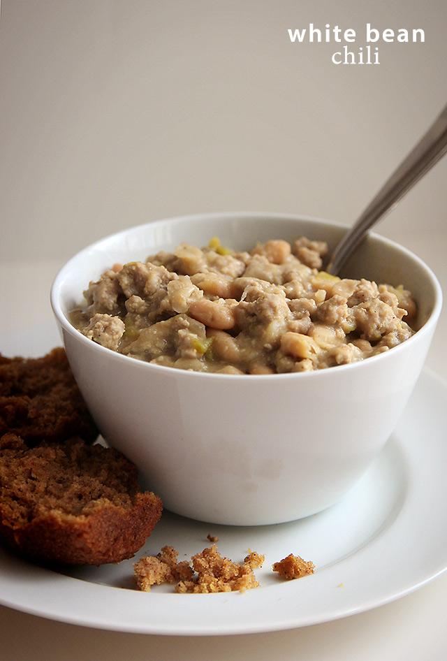 White Bean Chili Recipe | A Girl Named PJ