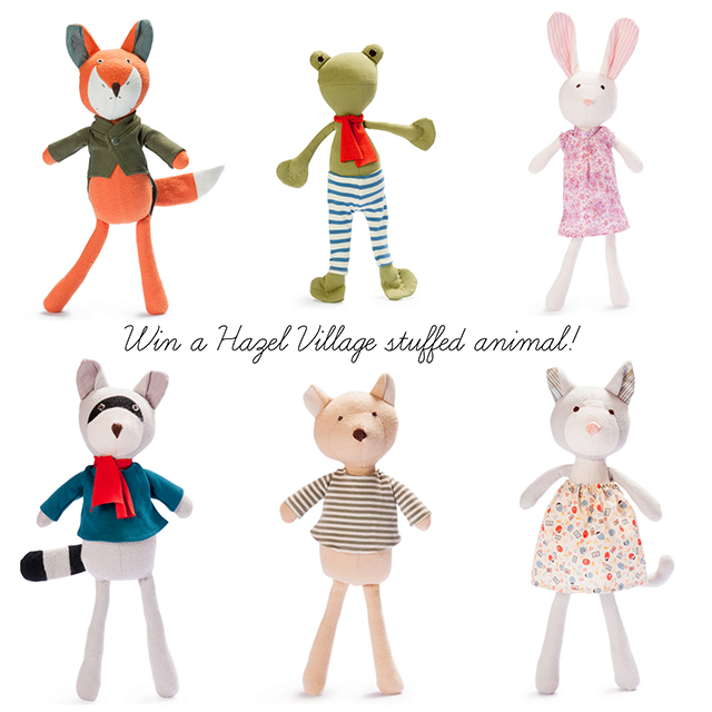 Hazel Village stuffed animals on BRIKA