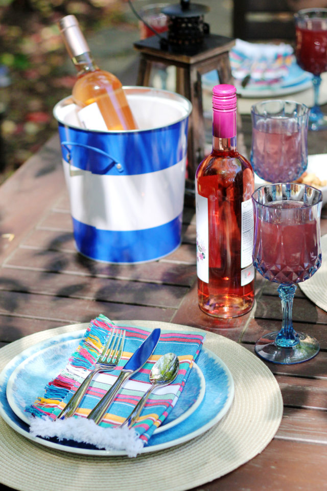 Yes Way Rosé: Wine recommendations for an outdoor dinner party with Pier 1 on A Girl Named PJ