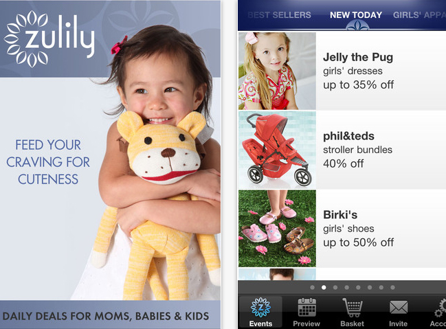 Zulily Iphone Mobile App